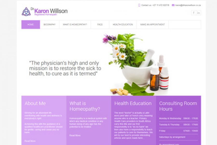 Dr Karon Willson